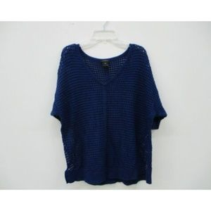 Ann Taylor Sweater Pullover Blue Size Small
